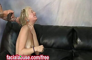 Spanked Ho Takes Dick Deep In Her Throat