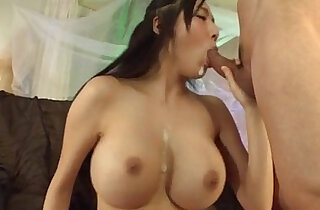 Young Miho Ichiki loves sucking on a hard and swallowing
