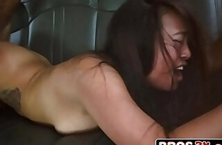 Japanese Cutie Sasha Yamagucci Catches A Ride And Some Cock
