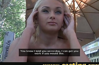Casting Russian anal beauty slides it in with pleasure