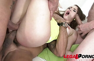 Zoey Doll airtight group fucking anal DP