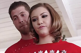 Sexy Sister Riley Mae Fucks Step Brother At Christmas