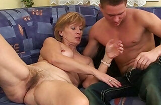 Nothing better that shooting your cum on moms body