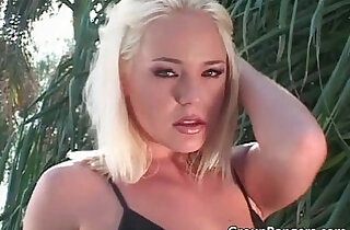 Blond slut is hungry for some black hard long cock