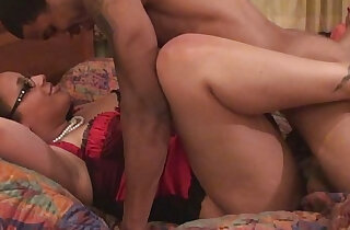 Big ass milf plays with sexy glasses rammed hard