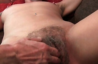 Granny with hairy wet pussy and armpits needs relief