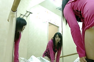 Beautiful naked girls in the dressing room