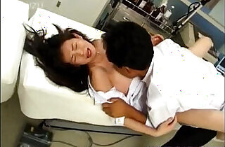 Japanese Model nurse fucked oral and in cooter by doctor