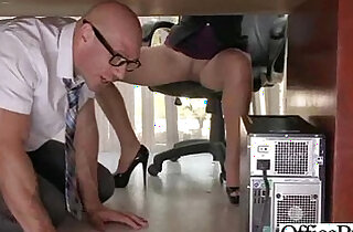 Sex Tape In Office sex With Busty Gorgeous Girl lela star clip 18
