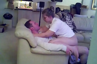 Cuckold Hot Wife gets Pussy fucked from Hubbys Friend